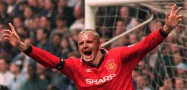Gascoigne would be much happy wearing the red shirt?