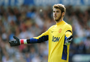 Sir Alex MAY offload de Gea