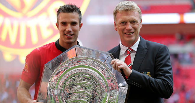 David Moyes with His main man Robin