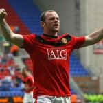 Rooney scored twice as the champions destroyed Wigan